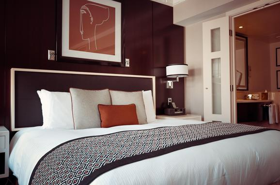Bedrooms should be neat, clutter free, and feel like a hotel, says John Pearce, Royal LePage Atlantic